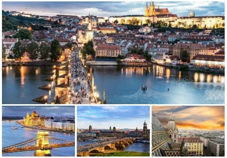 Екскурзия до Прага, Дрезден, Виена и Будапеща 2020! Транспорт, 4 нощувки на човек със закуски и водач  от ТА БОЛГЕРИАН ХОЛИДЕЙС КИТЕН