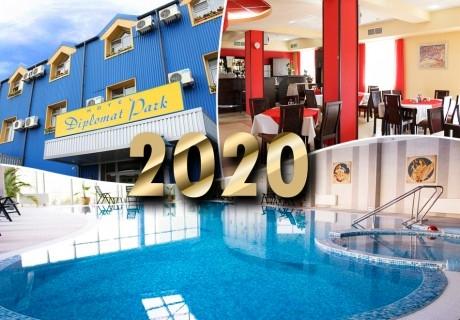 Нова година в Луковит! 2 нощувки на човек със закуски и вечери, едната празнична в хотел Дипломат парк*** +  басейн и СПА пакет в хотел Дипломат Плаза