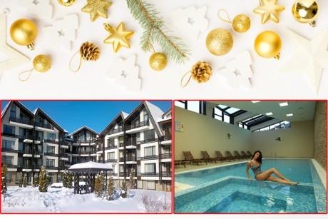 Коледа край Банско! 2, 3 или 4 нощувки на човек със закуски и вечери + басейн и релакс пакет от Аспен Резорт***. Дете до 12г. – БЕЗПЛАТНО!