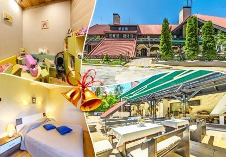 Коледа в Боровец. 2 нощувки на човек със закуски и вечери - едната празнична + сауна и парна баня в хотел Бреза***
