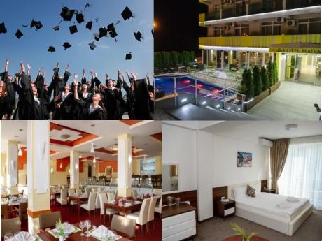 Студентски празник в хотел Маива**** до Охридското Езеро! 2 нощувки на човек, закуски и вечери + вход за дискотека