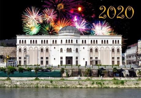 Нова година в Скопие! Транспорт + 2 нощувки на човек в хотел Континентал**** със закуски и доплащане за празнична вечеря + туристическа програма от Еко Тур!