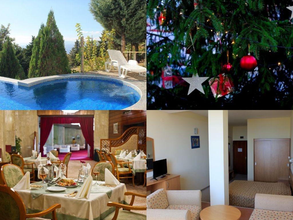 Коледа в Сандански! 2 или 3 нощувки на човек със закуски и две тематични вечери + плувен минерален басейн и джакузи в хотел Свети Врач
