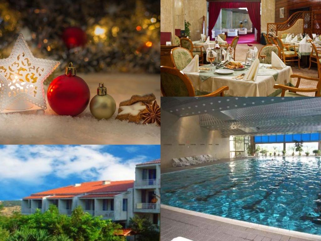Коледа в Сандански! 2 или 3 нощувки на човек със закуски и традиционни вечери + плувен минерален басейн в хотел Карталовец
