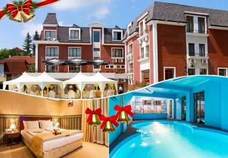 Коледа в Троян. 3 или 4 нощувки на човек със закуски и вечери + басейн в хотел Шато Монтан