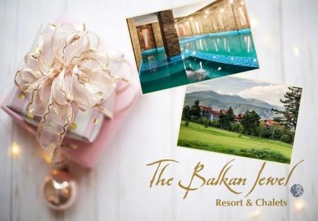 Коледа до Банско! 2 или 3 нощувки + закуски и вечери по избор + басейн и СПА в Балканско Бижу апартхотел****