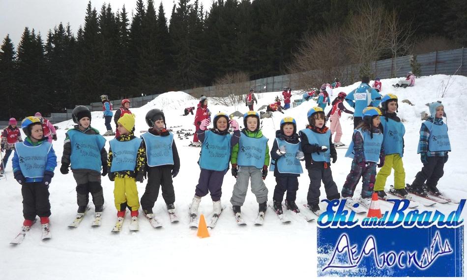 Обучение по СКИ на Витоша от Ски училище ДеЛюси