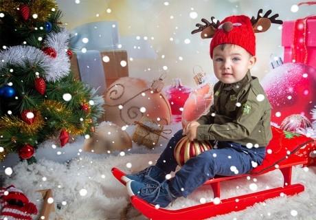 Професионална Коледна фотосесия в студио от фотограф Чавдар Арсов, София. Получавате всички кардри!