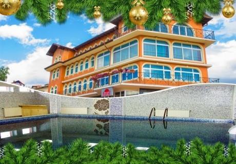 Коледа до Велинград! 2 нощувки на човек на база All inclusive light + басейн и релакс зона с минерална вода от хотел Сарай