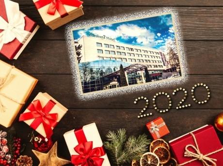 Нова година във Велинград! 2, 3 или 4 нощувки на човек със закуски и вечери, едната празнична + басейн и релакс пакет в хотел Здравец Уелнес и СПА****