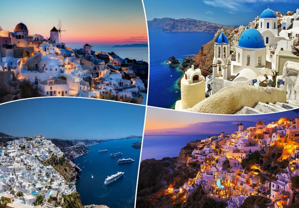 Великден на о-в Санторини, Гърция! Транспорт + 4 нощувки на човек със закуски  от ТА Далла Турс