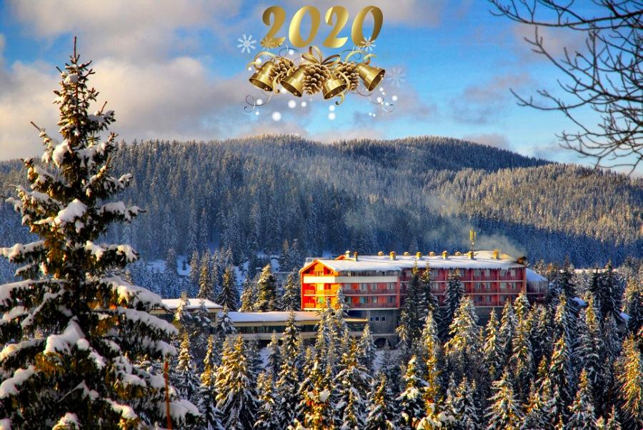 Нова година в Пампорово. 3 или 4 нощувки на човек със закуски и вечери + празничен куверт в хотел Преспа
