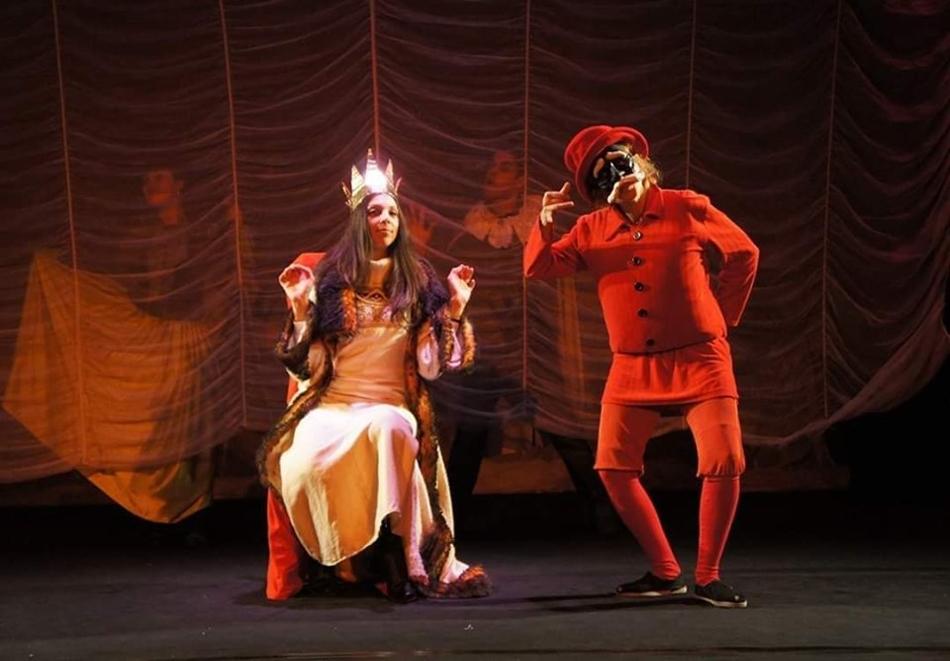 """Гледайте детския спектакъл """"Любовта към трите Портокала"""" на 12.11 от 11:00 часа на Открита Арт сцена Шипка (РКИЦ)."""