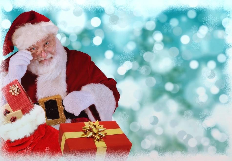 Посещение на Дядо Коледа и 30 мин. забавление за до 5 деца от Театър Пан