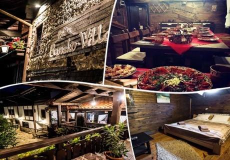 Нощувка на човек със закуска и вечеря* в семеен хотел Златева къща в Банско