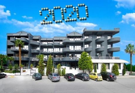 Нова Година в Паралия Катерини, Гърция! 3 или 4 нощувки на човек със закуски и вечери, едната празнична + в хотел Mediterranean Resort****