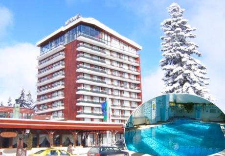 2+ нощувки на човек със закуски и вечери + басейн и релакс зона от Гранд хотел Мургавец****, Пампорово