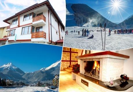 Начало на ски-сезона в Банско! 2,3 или 5 нощувки на човек със закуски + релакс център в къща за гости Ела, Банско
