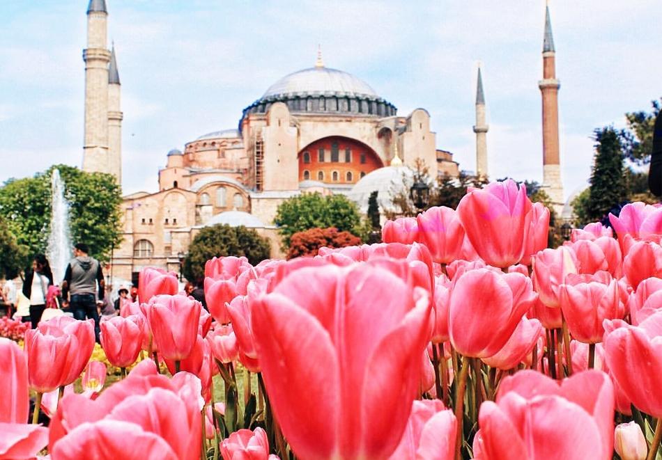 Екскурзия за фестивалa на лалето в Истанбул само за 139 лв.! Транспорт + 2 нощувки на човек със закуски и богата туристическа програма от АБВ Травелс