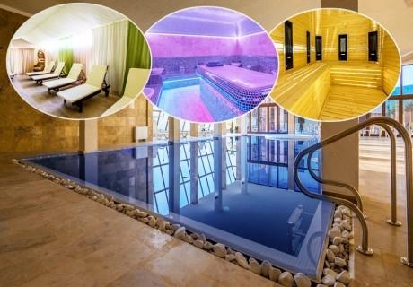 2 или 3 нощувки на човек със закуски и вечери + 2 басейна, джакузи и релакс център в НОВООТКРИТИЯ хотел Каталина Ризорт****, Цигов чарк
