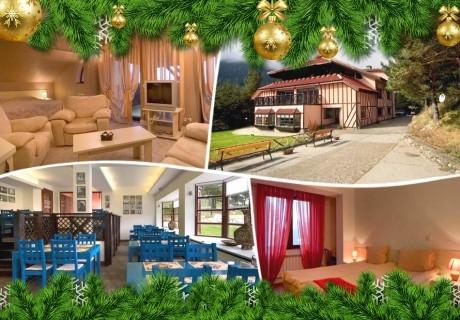 Коледа в Паничище! 2 или 3 нощувки на човек със закуски и вечери от хотел Теменуга