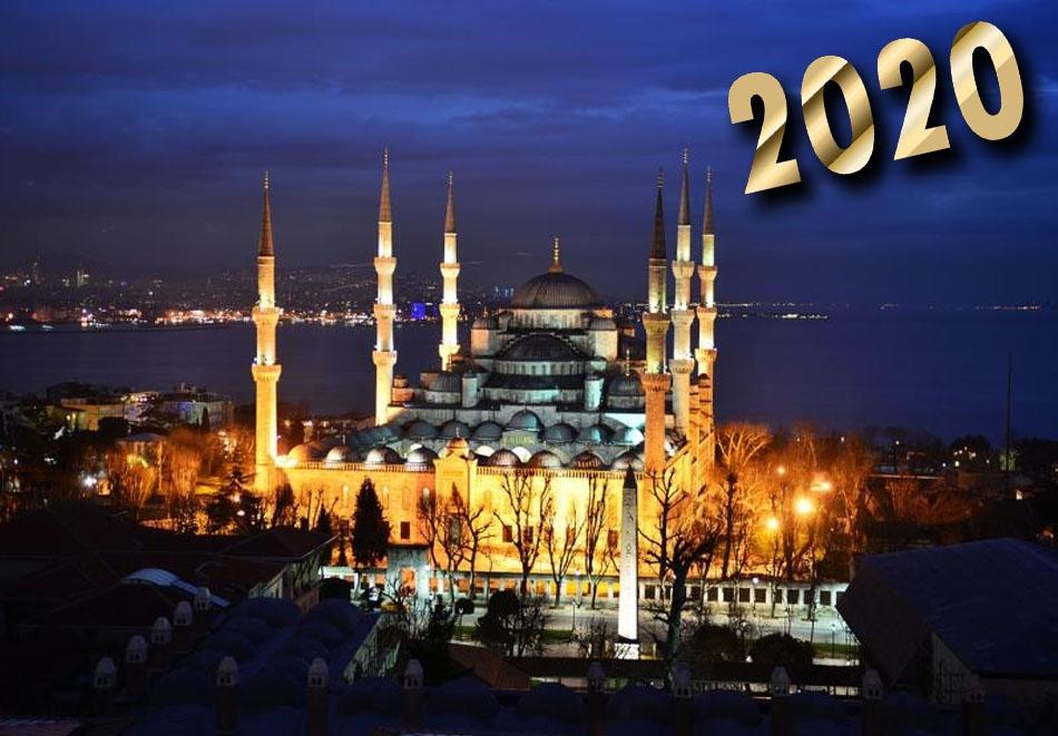 Нова година в Истанбул! Транспорт + 3 нощувки на човек със закуски + доплащане за Новогодишна вечеря по избор от АБВ Травелс