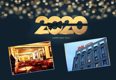 Нова година в Скопие! Транспорт + 3 нощувки на човек със закуски в хотел Ibis**** + Новогодишна вечеря с напитки без лимит и жива музика от Караджъ Турс