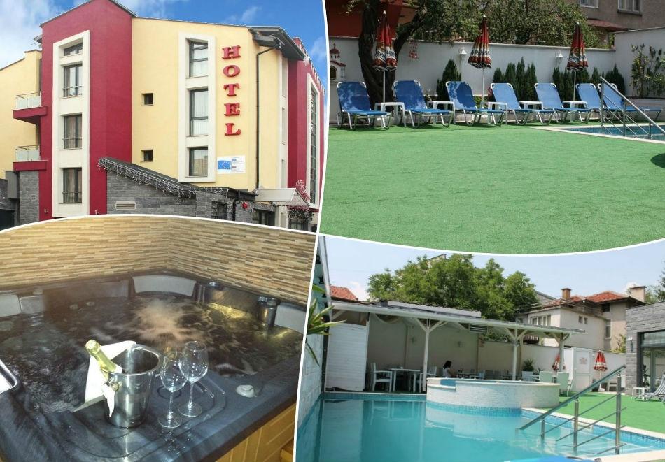 Почивка във Велинград на ТОП цена!  Нощувки на човек със закуска + сауна, парна баня и джакузи в хотел Свети Георги, Велинград
