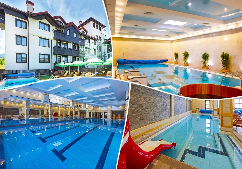 2, 3 или 5 нощувки на човек + басейни и СПА в хотел 7 Пулс & СПА Апартмънтс, Банско