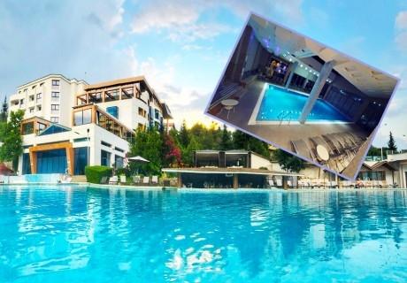 Нощувка на човек със закуска + МИНЕРАЛЕН басейн и СПА пакет в хотел Медите СПА Резорт*****, Сандански