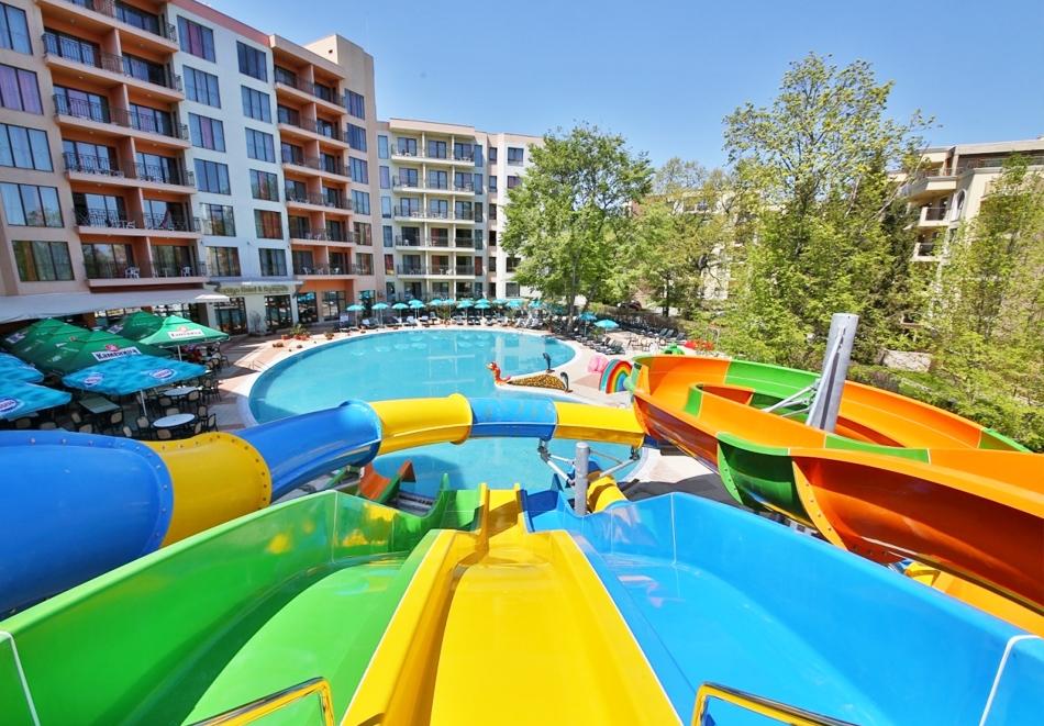 Нощувка на човек на база All Inclusive в Престиж хотел и аквапарк****, Златни Пясъци