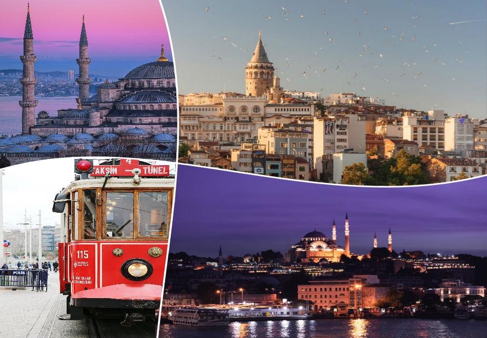 До Истанбул през март! 2 нощувки на човек със закуски  + транспорт  от ТА Шанс 95