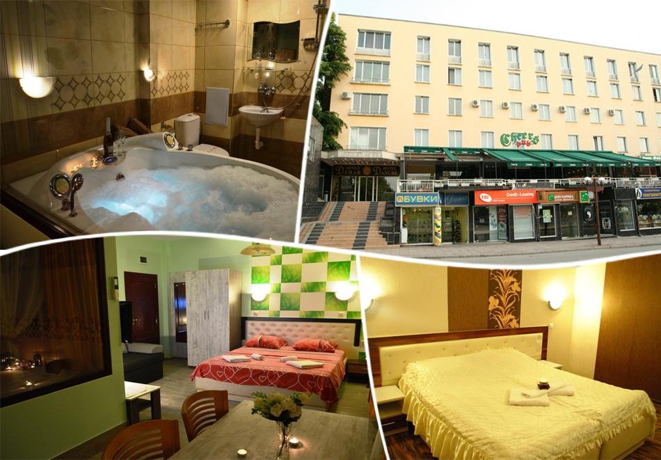 Нощувка със закуска* на човек + сауна и солариум от хотел Одисей***, Свищов
