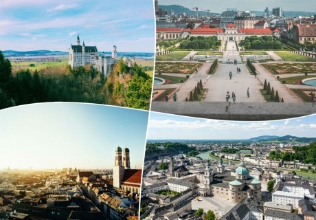 Екскурзия до Австрия, Баварските замъци и Мюнхен . 6 нощувки на човек със закуски +транспорт от ТА БОЛГЕРИАН ХОЛИДЕЙС КИТЕН