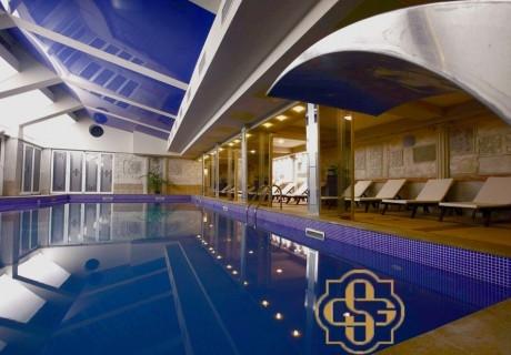 Пролетна ваканция в Кюстендил! 3 или 5 нощувки със закуски и вечери за ДВАМА + басейн и СПА в хотел Стримон Гардън*****