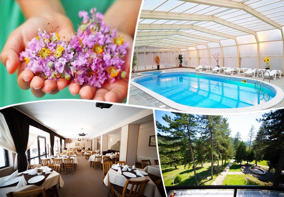 Майски празници във Вонеща вода. 2, 3 или 4 нощувки на човек със закуски и вечери + басейн в хотел Велиста