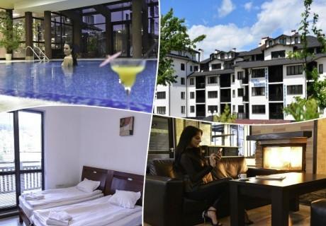 Почивка в  Банско! Нощувка на човек  + басейн и релакс център в хотел Роял Банско