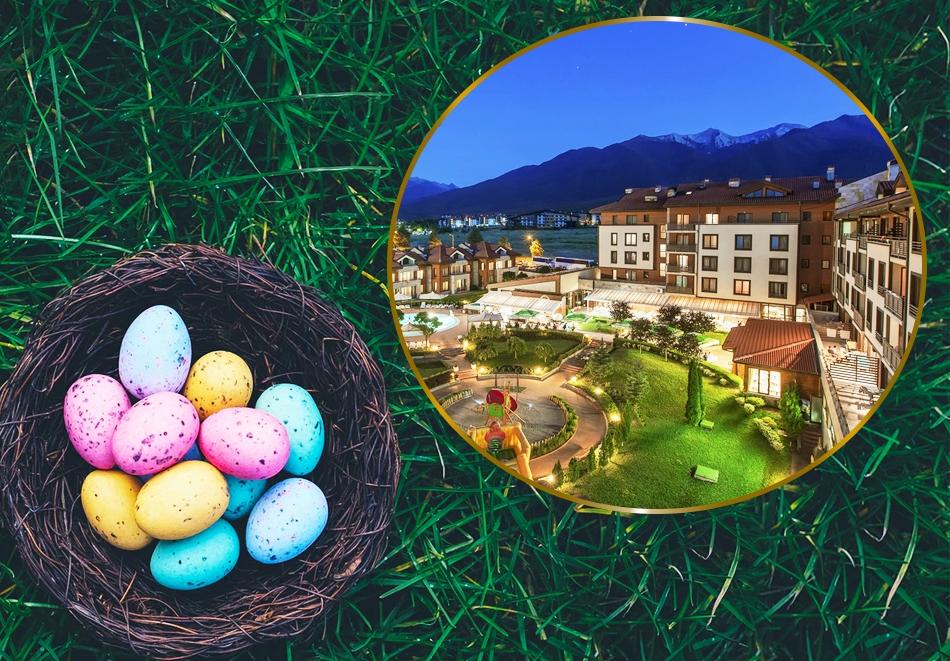 Великден в Банско! 2 или 3 нощувки на човек със закуски и вечери +  празничен обяд + басейн и СПА от Мурите Клуб Хотел