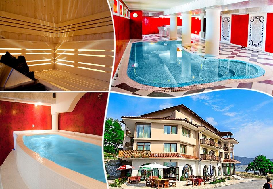Уикенд в Цигов Чарк. 2 нощувки на човек със закуски + басейн и релакс център в хотел Кос Хол Палас