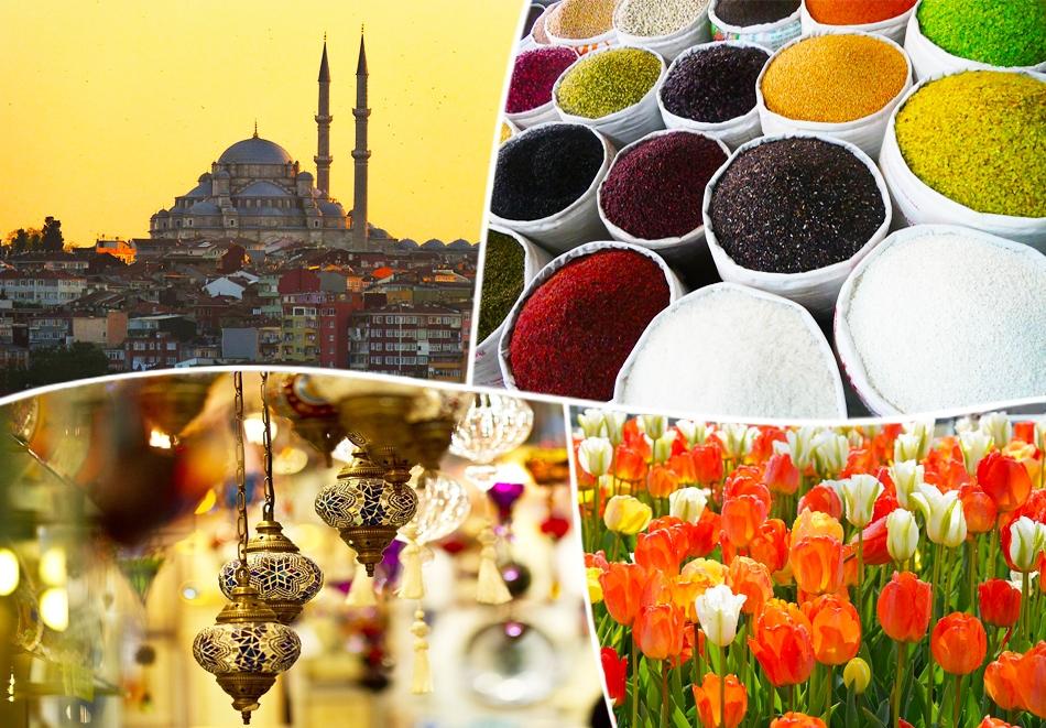 Екскурзия до Истанбул, Турция за Фестивала на Лалето с посещение на Принцовите острови! Транспорт + 2 нощувки на човек със закуски + басейн от Караджъ Турс