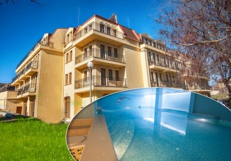 Нощувка на човек със закуска + МИНЕРАЛЕН басейн, джакузи, сауна и парна баня в хотел Си Комфорт***, Хисаря