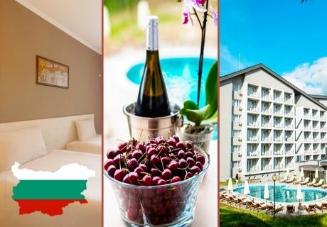 3 Март със СПА и гореща минерална вода. 2 или 3 нощувки на човек със закуски и вечери + DJ парти + външен басейн в Парк Хотел Кюстендил
