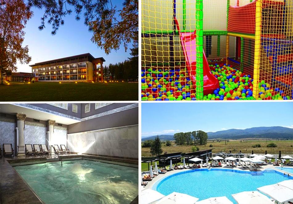 Пролетна ваканция в хотел Белчин Гардън****, с. Белчин Баня! 3 или 5 нощувки за ДВАМА със закуски + басейн и СПА пакет