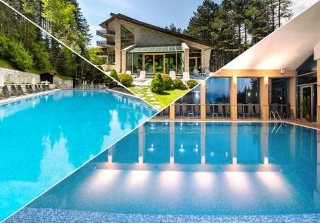 Уикенд във Велинград! Нощувка на човек със закуска + 2 минерални басейна и СПА пакет в хотел Велина****