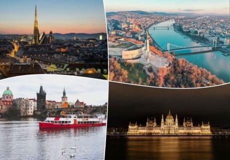 Екскурзия до Будапеща, Прага и Виена!. 4 нощувки на човек със закуски + транспорт от ТА Холидей БГ Тур