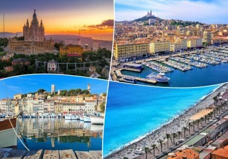 Екскурзия до Испания, Франция, Италия и Монако!. 6 нощувки на човек със закуски + транспорт от ТА Холидей БГ Тур
