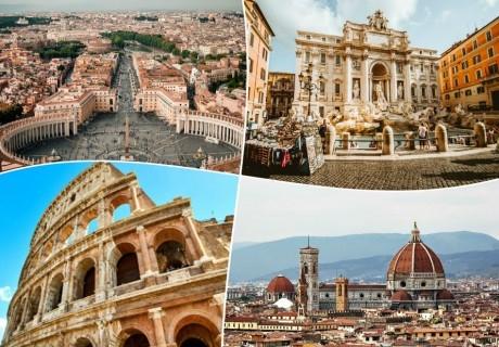 Великден в Рим, Италия!. 3 нощувки на човек + самолетен билет от ТА Холидей БГ Тур