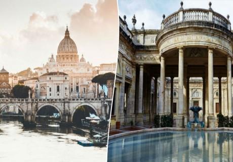 Априлска екскурзия до Рим, Монтекатини Терме, Лидо ди Йезоло, Пиза и Болоня, Италия. 5 нощувки на човек със закуски + транспорт от ТА Холидей БГ Тур
