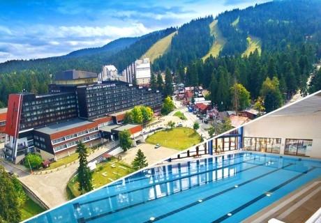Март в Боровец! Нощувка на човек със закуска и вечеря + басейн и термо зона от хотел Самоков****