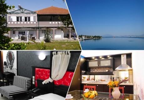 Ранни записвания за ТОП СЕЗОН на лято 2020 на остров Тасос, Гърция! Нощувка на човек в Blue Sky Boutique Apartments, на 200м. от плажа